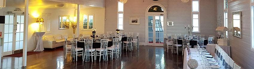 Darling St Chapel reception set-up