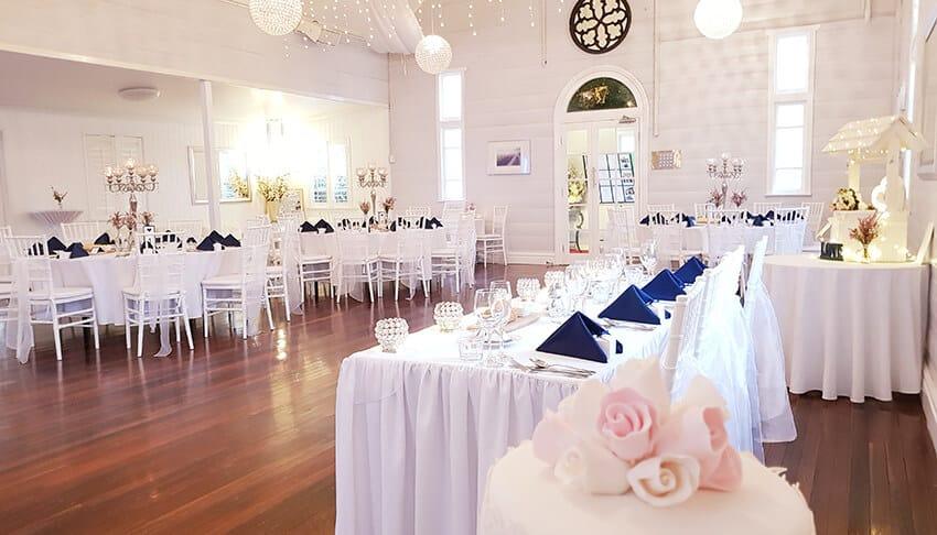 Darling Street Chapel Wedding Venue internal view